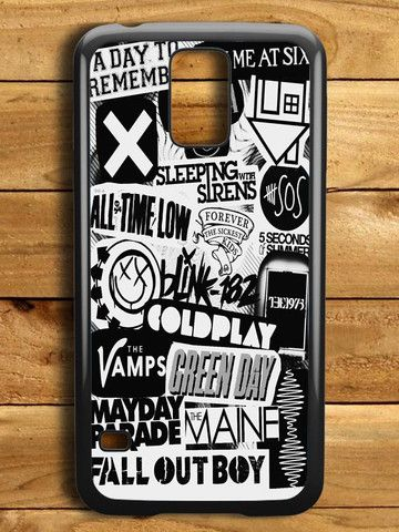 5sos Coldplay Fall Out Boy The Vamps 1975 Samsung Galaxy S5 Case