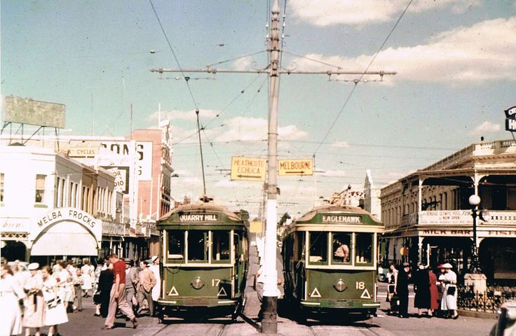 Melbourne-trams-1950s