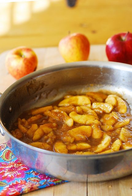 Cooked apples recipe. Nice with vanilla icecream. Replace the sugar and corn starch for Paleo proof recipe.