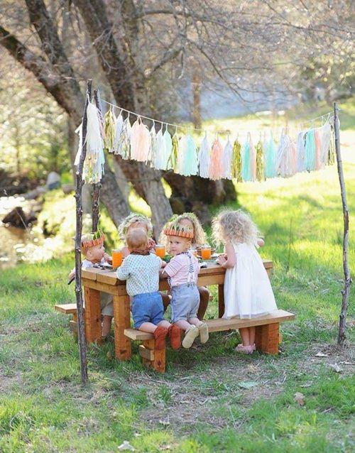 Cómo decorar una fiesta al aire libre