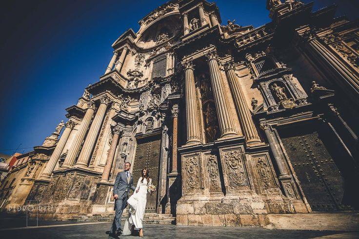 Carmen y Mariano #fotografosmurcia #fotografiadeboda #bodaencatedraldemurcia #bodaenmurcia