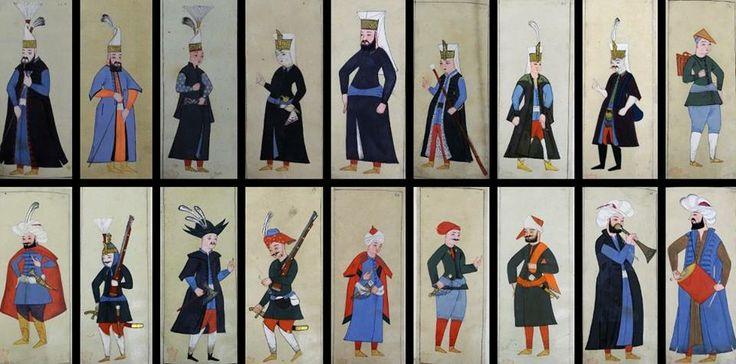 Ottoman Palace Resident, 1620- Osmanlı Saray Sakinleri, 1620