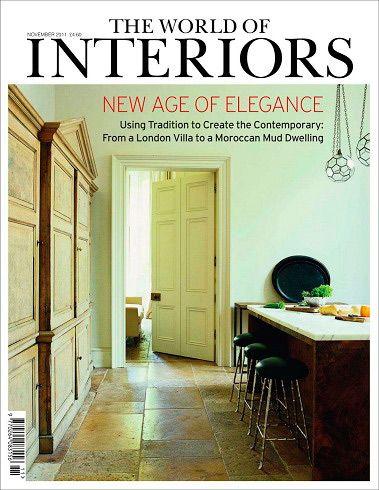 The World Of Interiors Magazine November 2011