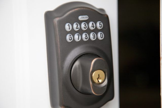 How To Change The Code On A Schlage Keyless Entry Hunker Schlage Keyless Entry Locks Keyless Entry Systems