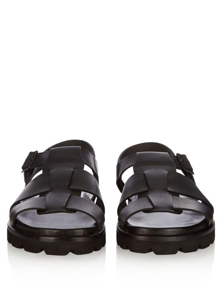 Multi-strap leather sandals   Lanvin   MATCHESFASHION.COM