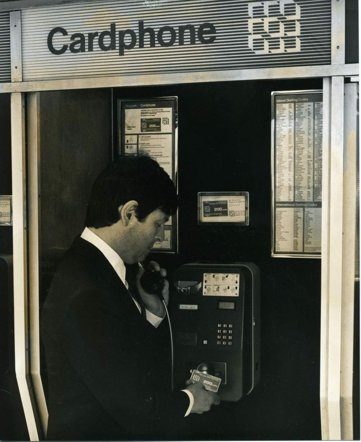 Very early Cardphone payphone.