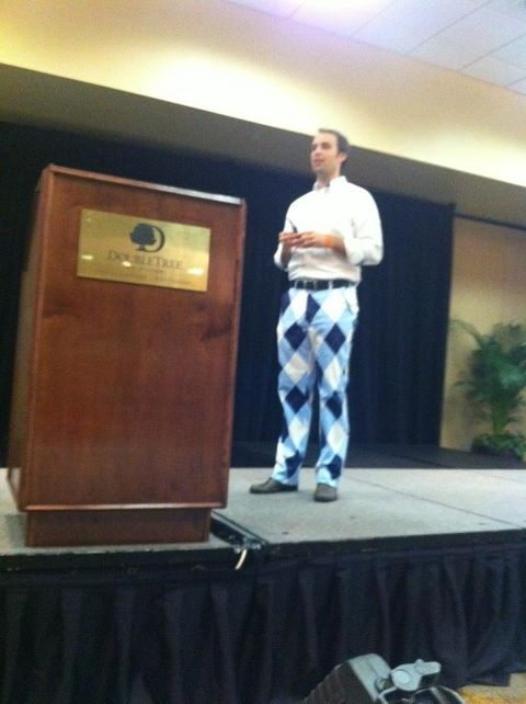 Those pants from Eric Boggs are ridiculous