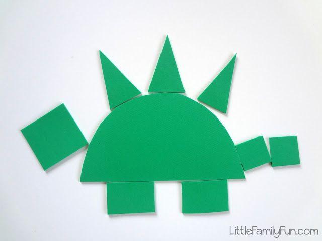 Little Family Fun: Build a Dinosaur!