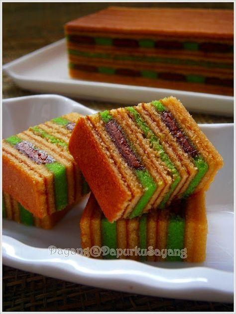 DapurKu SaYang: Kek Lapis Cadbury Pandan
