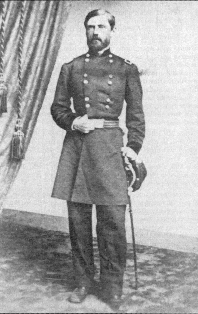 General John Fulton Reynolds, Killed at Gettysburg, July 1, 1863. 4th cousin 7x removed through Daniel Ferree and Marie de la Warembur who are my 10th great grandparents.