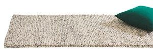 Stilig teppe. HAY Peas Carpet Light Grey Melange 80x140