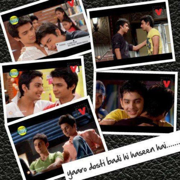 Raghav and Arjun's moments In Humse Hai Life...