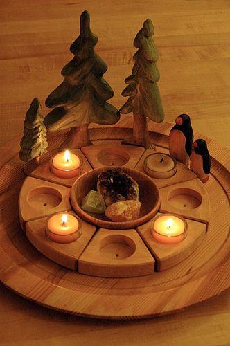 Love wood decor!