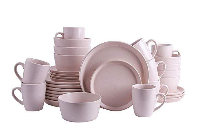 Amazon Com Stone Lain Coupe Stoneware Dinnerware Set Service
