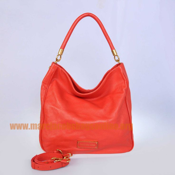 Cheap Marc Jacobs Too Hot to Handle Hobo Watermelon Red  $171.50-marcjacobsbagsonline.org