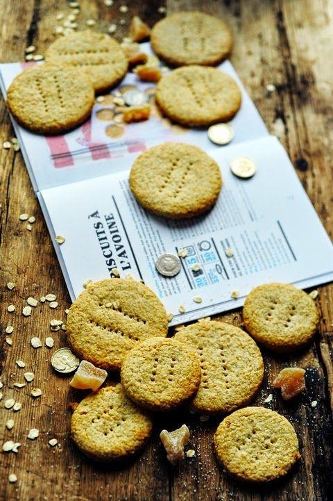 Biscuits à l'avoine et au gingembre ! Entrez dans l'épicerie du monde le rayon Royaume Uni est ouvert par Marie Grave !