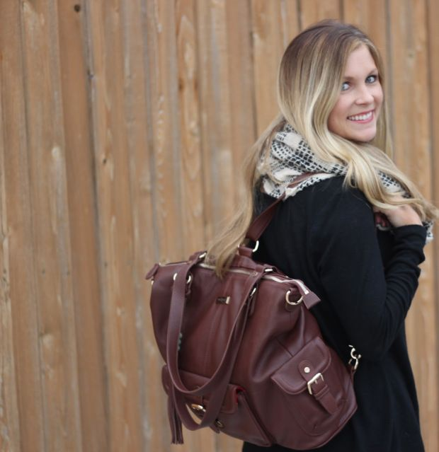 Lily Jade diaper bag style