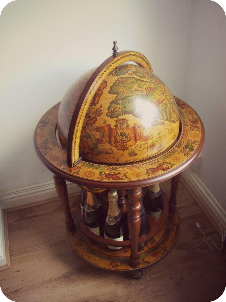 Vintage Drinks' Globe (Drinks Cabinet) on Yup Blog