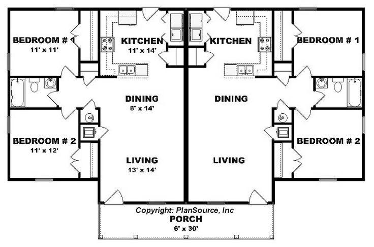 Duplex 925 Sq Ft Rental Property Ideas Pinterest Ad