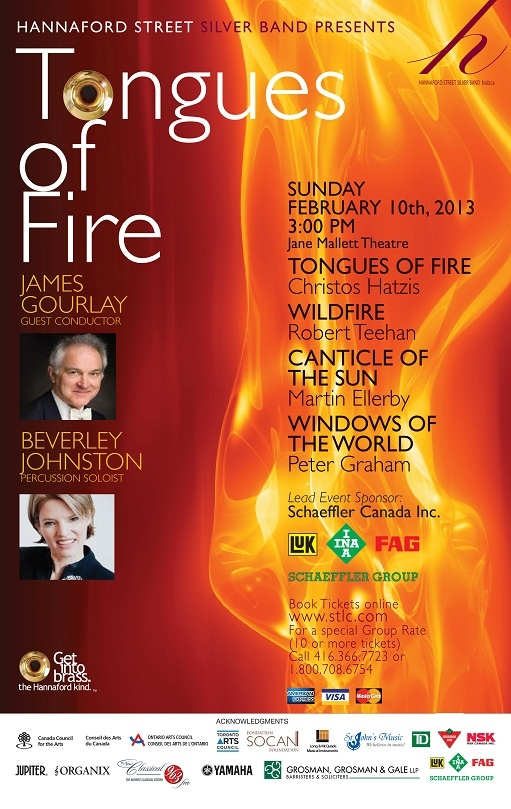 Tongues of Fire - Sunday February 10, 2013