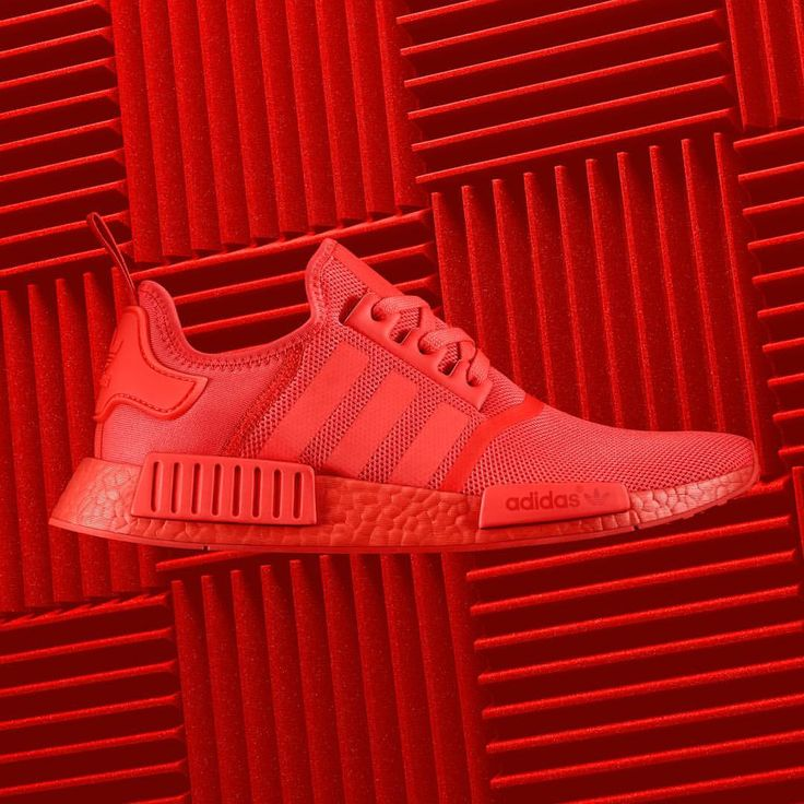 "123.8k Likes, 1,767 Comments - adidas Originals (@adidasoriginals) on Instagram: ""Stand out in Solar Red. #NMD R1, updated with Color BOOST, coming September 17th."""