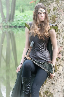Elf ranger. At least she is dressed, unlike many I have seen. <---Ha! Sadly this is so true…