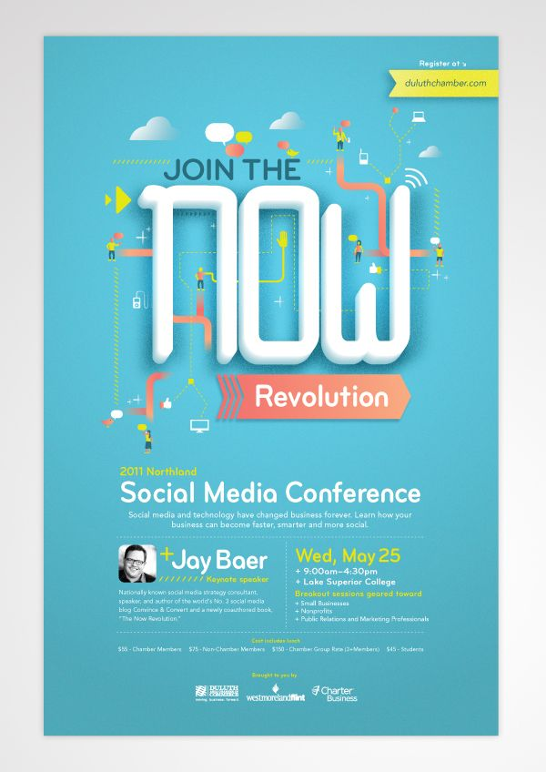 The Now Revolution by Jacob Boie, via Behance