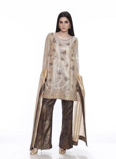 a9553df002 formal party wear dress with jamawar bell bottm Pakistani Designer Suits,  Pakistani Dresses, Bell