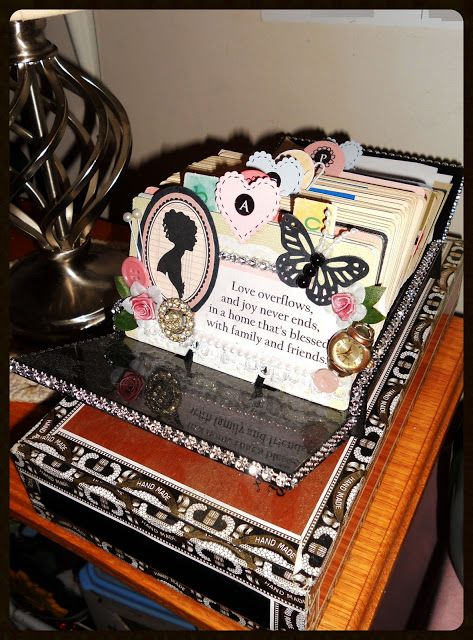 Altered rolodex via Beansie Babbles
