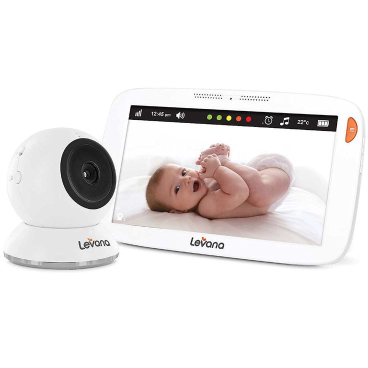 Levana Amara 7-in. Touchscreen High Definition Video Baby Monitor 12-hour Battery Life and Rapid Recharging: Amazon.ca: Baby