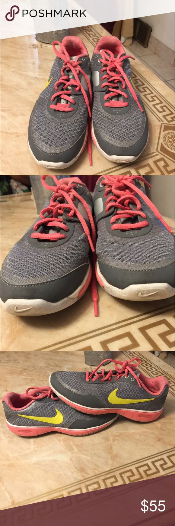 NIKE TRAINING  Size 8 Pre loved gently used only 5 times good condition no holes rips or stains Reasonable offers welcome Nike Shoes Athletic Shoes