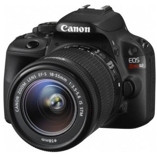 EOS Digital Rebel SL1 DSLR Camera with EF-S 18-55mm IS STM Lens - Black - Digital Camera