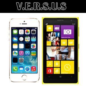 Adu Hebat Smartphone Canggih di Jajarannya - Nokia Lumia 1020 VS iPhone 5s