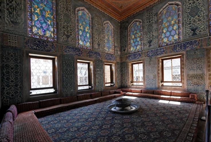 Istanbul, Topkapi Palace, harem room