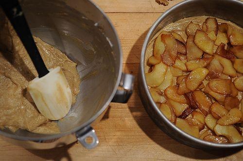 Ginger Apple Torte