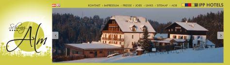 Hotel Schwarz Alm in Zwettl (Waldviertel, Österreich/Austria)