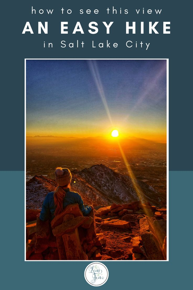 A Quick And Easy Hike In Salt Lake City Salt Lake City Hikes Salt Lake City United States Travel Destinations