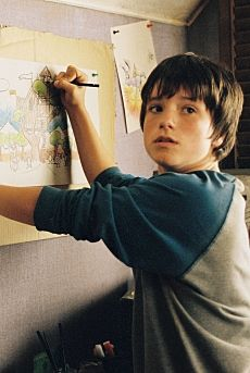 Josh Hutcherson in Bridge To Terabithia Omg i remember this film, he was sooo cuuutee!!!