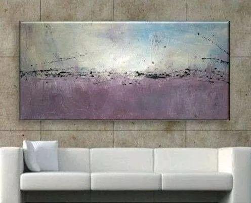cuadros modernos 80x130 abstractos tripticos decorativos