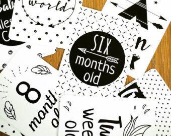 IVF Pregnancy Milestone Cards by snowbirdprints on Etsy