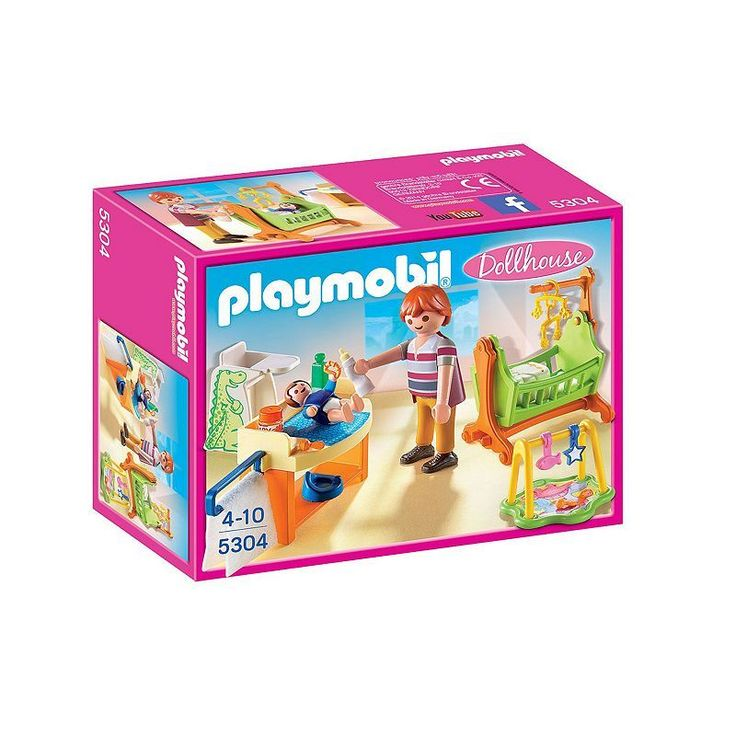 Playmobil Baby Room Amp Cradle Set 5304 Products Toys