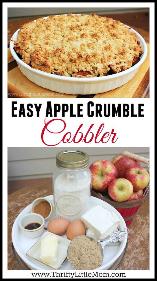 Easy Apple Crumble Recipe With Cake Mix
