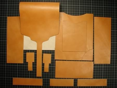 Sewing leather purses bags totes and carry