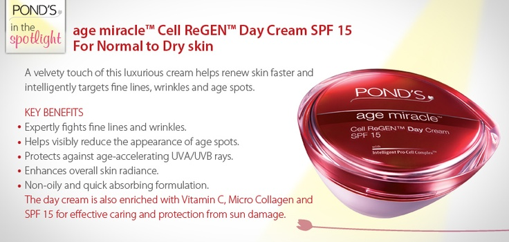 age miracle Cell ReGEN Day Cream SPF 15 - Normal to Dry