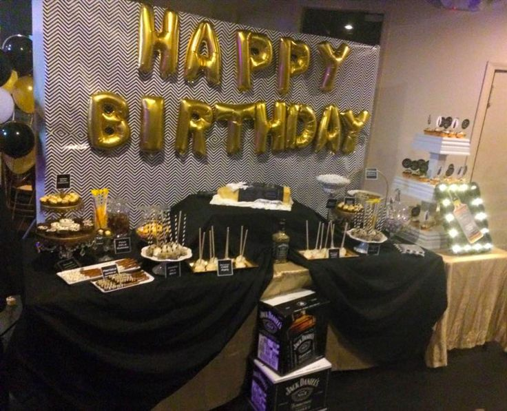 Jack Daniels Birthday Party All Decor Amp Candy Station By