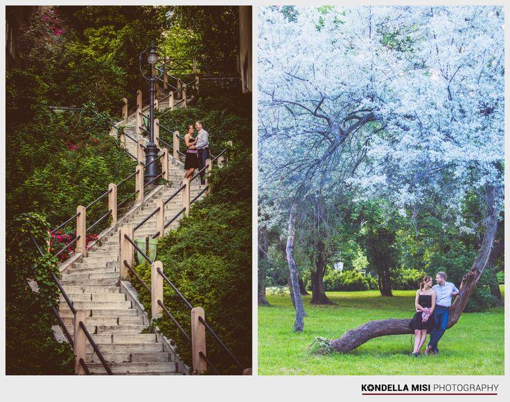 Budapest e-session #engagement #photoshoot #park #Hungary #castle