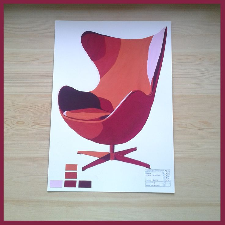 silla con temperas