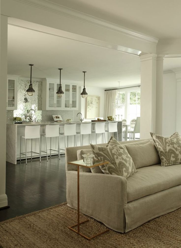 Kitchen Island Open To Living Room 28 best floorprint images on pinterest | living spaces, living