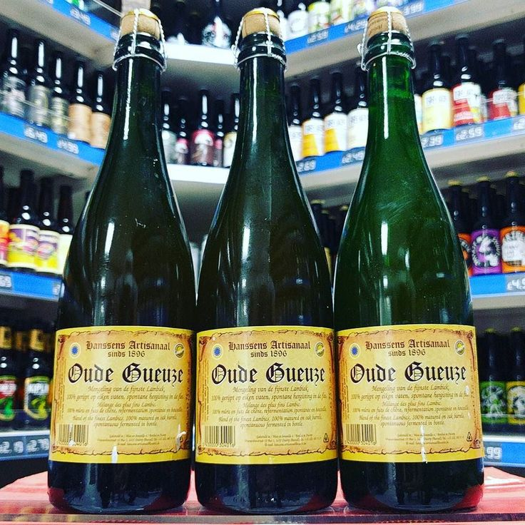 Oude Gueuze - 6% blend of 1 2 & 3 year old Lambic from #hanssens - 750ml bottles available now