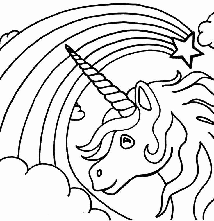 24 Unicorn Emoji Coloring Page in 2020 | Unicorn coloring ...